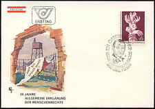 Austria 1978 Human Rights FDC First Day Cover #C24107