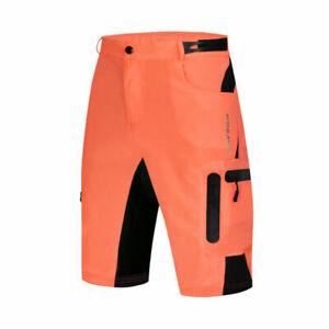 Mens Baggy Cycling Shorts MTB Mountain Bike Riding Casual Pants Summer Loose Fit