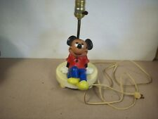 UNDERWRITER'S LABORTORIES  MICKEY MOUSE LAMP
