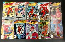 FLASH 1987 GIANT LOT OF 117 VF/NM #1 TO 227,2ND IMPULSE 1ST TRICKSTER+ BL FLASH
