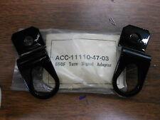 NOS Yamaha XS650 XS 650 Saddlebag Turn Signal Adapters ACC-11110-47-03