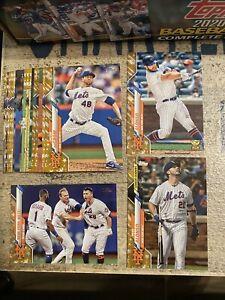 2020 Topps Baseball 21 Card Team Set New York Mets
