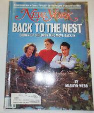 New York Magazine Back To The Nest February 1988 011715R