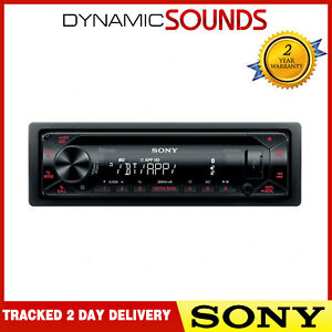 Sony MEX-N4300BT Car Stereo CD Receiver USB Aux In Bluetooth car stereo