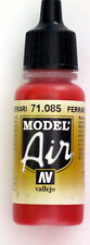 Vallejo Model Air Paint: 17ml  71085 Ferrari Red