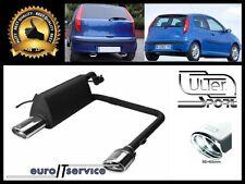 SILENCIEUX POT D'ECHAPPEMENT FIAT PUNTO II 1999-2003 2004 2005 2006 TIP 95x65
