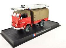 Fire Engine France 1954 Camion Tout Usage 4x4 metal 1/50 Fire Vehicle Model car