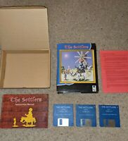 The Settlers - Commodore Amiga - Big Box Good Condition - Tested