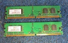 Nanya NT256T64UH4A0F-5A (2 x 256MB) 512MB DDR2 SDRAM PC3200 CL3 240 Pin DIMM RAM