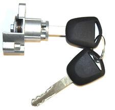NEW FOR HONDA QUALITY LEFT DRIVER SIDE DOOR LOCK CYLINDER W/ 2 KEYS D-19-131