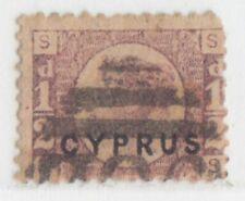 CYPRUS 1880 ISSUE HALF PENNY USED SG.1 PLATE 15 = SCOTT 1