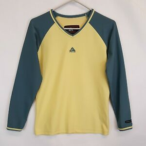 Vtg Nike ACG All Condition Gear Base Layer Pullover Shirt Womens Sz M 8 10 LS
