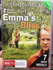 Emma's Bliss ex-rental region 4 DVD (2006 German drama movie) * rare *