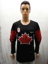 NWT Team Canada 2018 Olympic Hockey Jersey Black Nike S