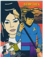 Star Trek TOS Art & Images Original Series Artifex Chase Card CZ3