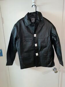 Outer Boundary Leather Jacket