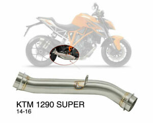 Motorcycle Bike Exhaust Link Mid Pipe For KTM 1290 Super 14-16 Duke R 2017-2019