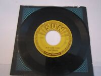 CARL PERKINS BLUE SUEDE SHOES 45 RECORD - SUN RECORDS - TUB RSS
