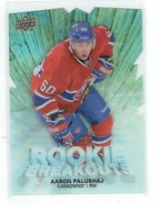 11-12 UD The Cup Rookie Breakouts  Aaron Palushaj  /100