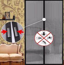 Protezione Magnetica Magic Mesh Porta Tenda Snap Fly Bug insetti zanzare schermo