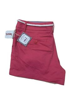 Cambridge Dry Goods Shorts Size 12 Chino Flat Front Pink
