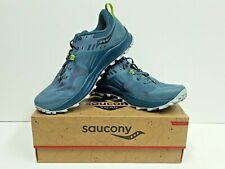 saucony PEREGRINE 10 Men's TRAIL Running Shoes Size 8 (Steel) NEW