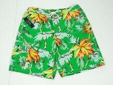 New Polo Ralph Lauren Green Swim Trunks Board Shorts Mens Large
