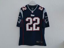 Nike STEVAN RIDLEY No 22 NEW ENGLAND PATRIOTS (Size M) NFL Jersey