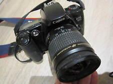 Appareil photos-Collect 1996-CANON EOS 500-35mm-SANGLE CANON-ETUI CUIR