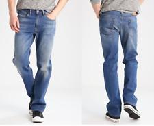 Original Levis 514 Straight Fit Herren Denim Jeans Blau Schwarz