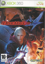 DEVIL MAY CRY 4 for Xbox 360 - with box & manual - PAL