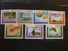 Poland - 1964 Polish Aviation Fu 00006000 ll Set of 7vs Mnh Cat 8.60 (2Q)