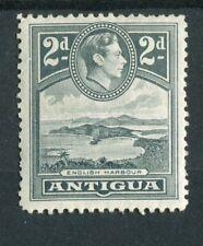Antigua KGVI 1938-51 2d grey SG101 MH