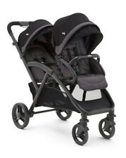 JOIE Evalite Duo Double Pushchair in Two Tone Black