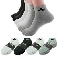 Adi 36 Pairs Ankle/Quarter Crew Mens Sport Socks Cotton Low Cut Size 9-11 10-13
