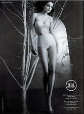 1999 LA PERLA : Korina Longin ,   Bra & Panty  Magazine  Print  Ad