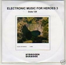 (J280) Electronic Music for Heroes , Duke 129 - DJ CD