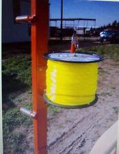 Trim Line Spool Rack For Open Or Enclosed Landscape Trailer / Trimmer Lawn