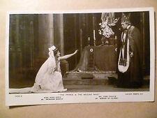 Theatre Postcard Nora Kerin & Fenn Challis- The Prince & The Beggar Maid +Stamp