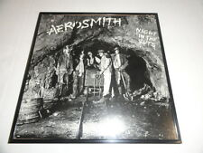 "STEVEN TYLER SIGNED FRAMED ""NIGHT IN THE RUTS"" ALBUM LP AEROSMITH"