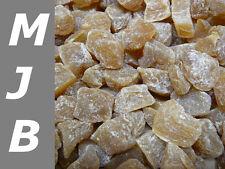 1000 g Ingwer Stücke scharf  leicht gezuckert ungeschwefelt getrocknet  1kg