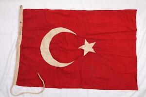 WW1 Gallipoli Campaign Period Ottoman Empire Turkish MILITARY FLAG