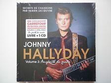 Johnny Hallyday livre + 1cd Au Zénith Du Succès 1976-1986 volume 3