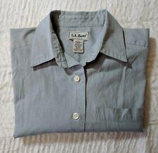 L.L. BEAN blouse top Sage size XS sage long sleeve