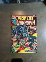 Worlds Unknown # 5 VG  Marvel Comics May 1974