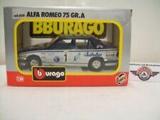 """Alfa Romeo 75 #1 """"6. Rallye di Pescara"""", 1992, Bburago 1:24 (Made in Italy)"""