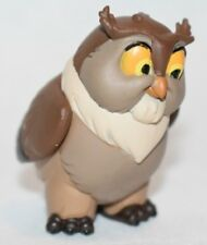 Disney Store Authentic OWL Bird FIGURINE Cake TOPPER PVC BAMBI NEW