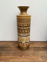 Denby Minaret Bottle Vase, Tall Vintage Vase, 1970s Stunning Denby Pottery