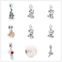 2019 new 1pcs European Charm Beads Fit 925 silver Bracelet Necklace chain DIY