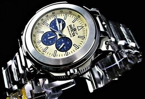 Invicta Reserve Transatlantic 54.7 mm Stainless Steel Chronograph Quartz Watch